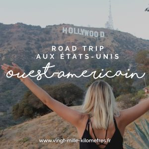 USA ouest américain road trip