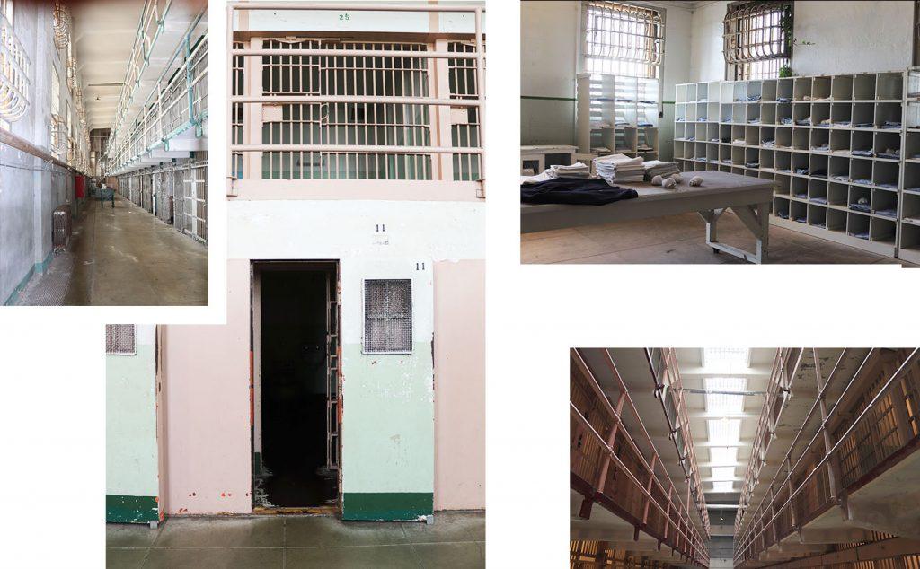 Prison Alcatraz Interieur