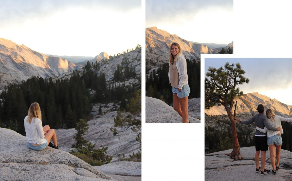 Olmsted Point - Yosemite park